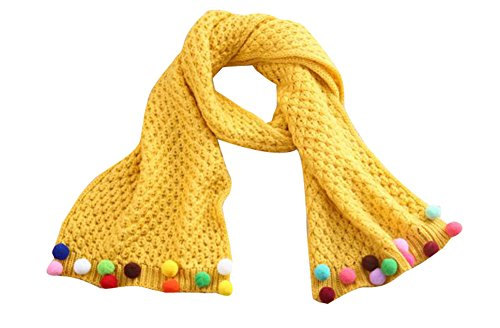 Winter Baby New Fashion Beautiful Warm Scarf [yellow] by Black Temptation (Image #2)