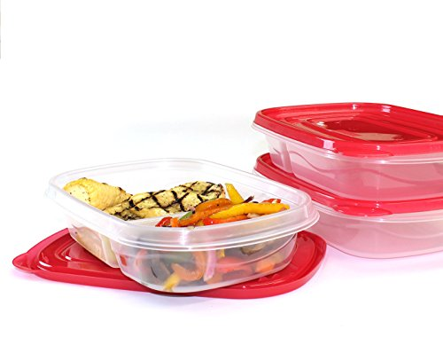 Frigidaire Bento Lunch Containers Compartments