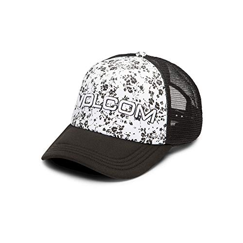 Volcom Junior's Final Rose Trucker Hat, White, One Size Fits All ()