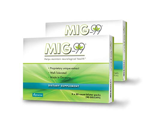 MIG-99 – Proprietary Unique Plant Extract from Feverfew – 2 Boxes For Sale