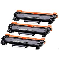 2X Toner TN2450 Chipped Compatible for Brother HL-L2350DW HL-L2375DW HL-L2395DW