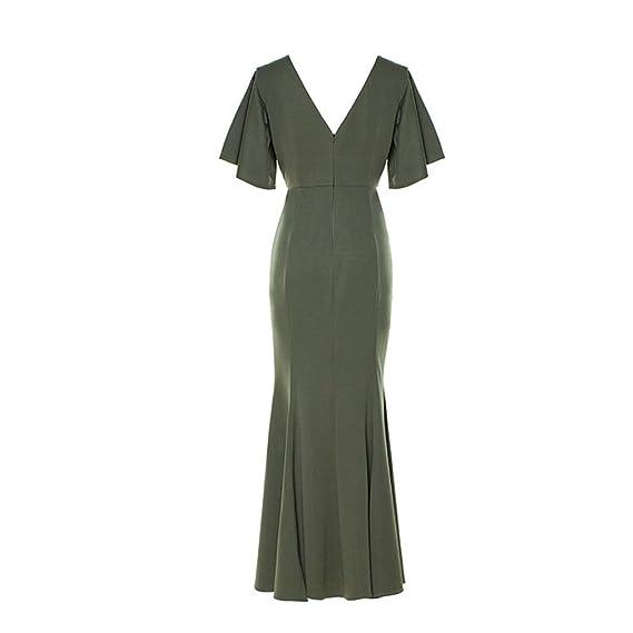 Qiao Nai Women'S Green Dresses: Amazon.in: