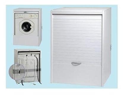Base copri lavatrice mobile porta lavatrice per esterno in resina ...