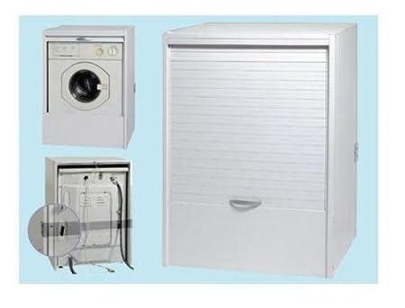 Armadio Lavanderia Esterno : Base copri lavatrice mobile porta lavatrice per esterno in resina