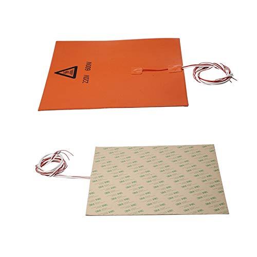 ILS - 300 x 300 mm 220 V 600 W Silicona calefacción Cama ...