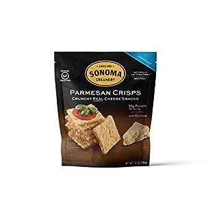 Sonoma Creamery Cheese Crisps, Parmesan, 10 Ounce Bag