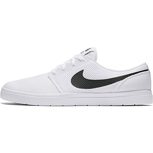 Black Track Shoes Red Sb Skateboarding Men's Nike Ultralight Portmore Ii White 8zwBRq