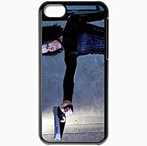 Personalized iPhone 5C Cell phone Case/Cover Skin 38350 Black