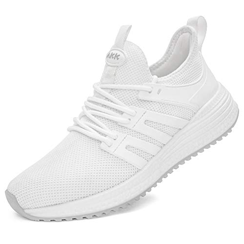 Akk Womens Running Shoes Ladies Female Sneakers Comfortable Mesh Memory Foam Sneaker Light Weight Nursing Standing Work Slip