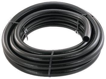 Little Giant 566183 T-11/2-50 BFPVC Flex PVC Tubing, 1-1/2-Inch by 50-Feet, Black