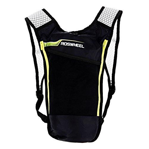 OLSUS Lightweight MultifunctionOutdoor Bicycle Backpack Bag with Waterproof Bag - Black + Blue by OLSUS