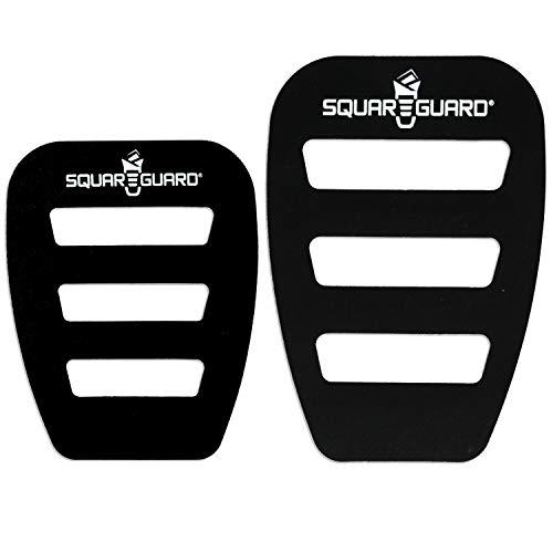 SquareGuard Pocket Square Holder For Men(Variety 2-Pack), Best Pocket Square Organizer