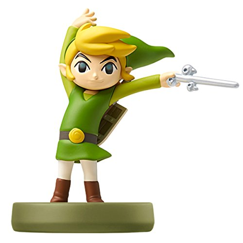 Amiibo ToonLink (Wind Tact) (The Legend of Zelda Series) (The Legend Of Zelda Wind Waker Part 2)