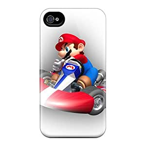 Gio15097QEGY Cases Skin Protector Diy For Touch 5 Case Cover Mario Kart With Nice Appearance