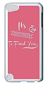 Brian114 Case, iPod Touch 5 Case, iPod Touch 5th Case Cover, Destined Retro Protective Hard PC Back Case for iPod Touch 5 ( white )