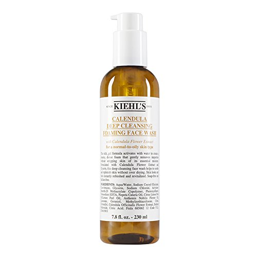 Calendula Deep Cleansing Foaming Face Wash 230ml/7.8oz Kiehl's 3605970630881
