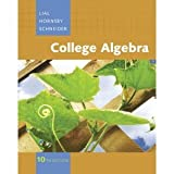 College Algebra, Books a la Carte Edition, Lial, Margaret L. and Hornsby, John, 0321622294