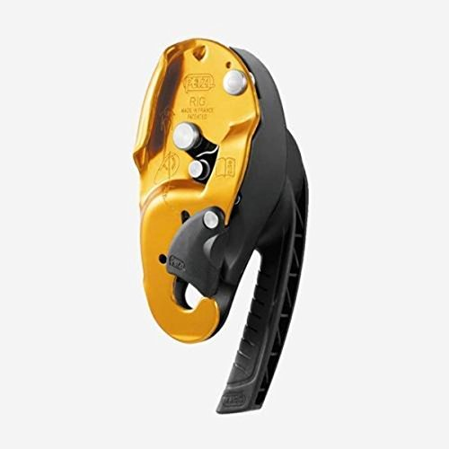 Petzl Pro Rig Descender - Yellow