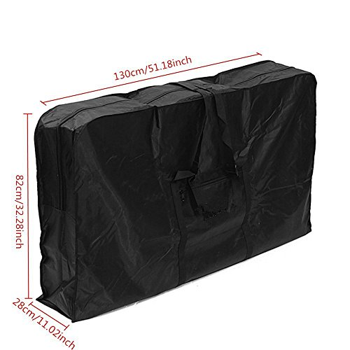 26 inch Foldable Bike Travel Bag Case Box Thick 1680D Oxford Cloth Folding Bicycle Carry Bag Pouch Bike Transport Case Bag for Transport,Air Travel,Shipping CYBG03 by ChengYi (Image #1)