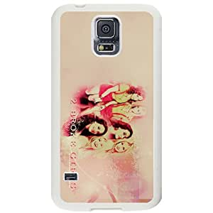2 Broke Girls Samsung Galaxy S5 White Phone Case Christmas Gifts&Gift Attractive Phone Case KHUAA523669