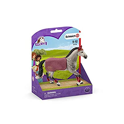 Schleich Horse Club Trakehner Mare Riding Tournament 2-Piece Educational Playset  for Kids Ages 5-12: Toys & Games