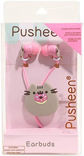 Pusheen The Cat Donut Earbuds