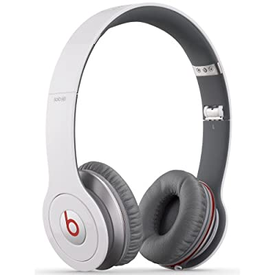 Beats by Dr. Dre Solo HD Naturally Noise Isolating On-Ear Headphones (White)
