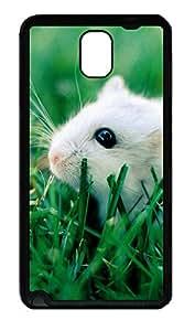Samsung Note 3 Case White mice TPU Custom Samsung Note 3 Case Cover Black