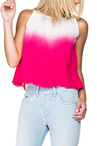 Salsa - Top dégradé blanc et rose - Femme
