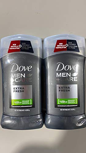 Dove Men +Care Deodorant, Extra Fresh - 3 oz - 2 pk
