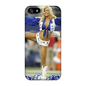 Case For Ipod Touch 5 Cover Scratch-proof Protection Hot Nfl Dallas Cowboys Cheerleaders Phone Case