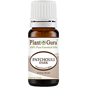 Patchouli Essential Oil (Dark) 10 ml. 100% Pure Undiluted Therapeutic Grade.