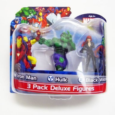 Marvel 3 Pack Deluxe 4