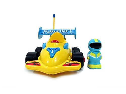 DeXop RC Cartoon Race Car with Music Radio Control Toy Action Figure Rc Vehicle (CR07) from DeXop