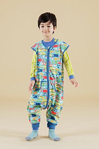 Vaenait baby Kids Boys Double-Layered Cotton Wearable Blanket Sleeper Sleep Travel S by Vaenait baby (Image #4)