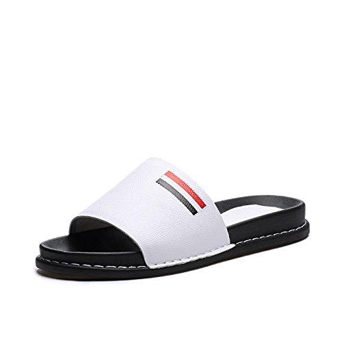 ZPPZZP Ms sandali estate piatta e un tessuto traspirante svago bianco 39EU
