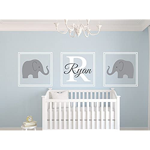 baby theme on room for wall ideas elephant best nursery decor fresh