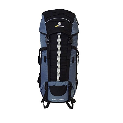 outdoorer Backpacker-Rucksack mit Regenhülle 4 Continents 85+10 – Reise-Rucksack mit Frontöffnung für Trekkingtouren…