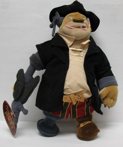 "Disney Treasure Planet 15"" Long John Silver Plush Doll"