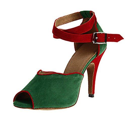 Minitoo ,  Damen Tanzschuhe Grün