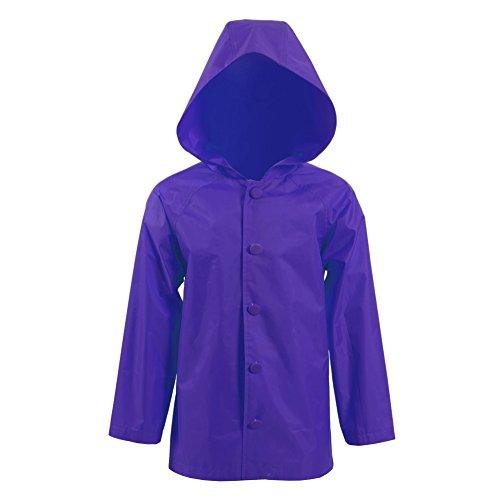 BelieveME Halloween Cosplay Costume Kid's Raincoat Jacket (Big Boys 18, Purple) ()