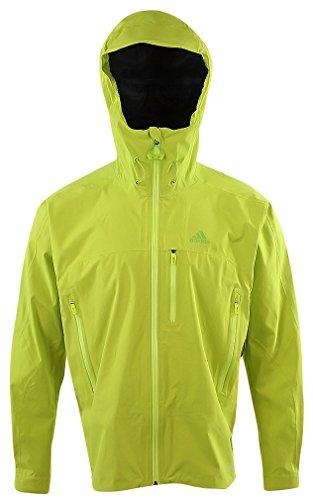 (adidas outdoor Men's Terrex Swift Jacket L, Yellow)