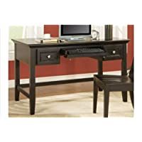 Oslo Writing Desk w Keyboard Drawer in Black