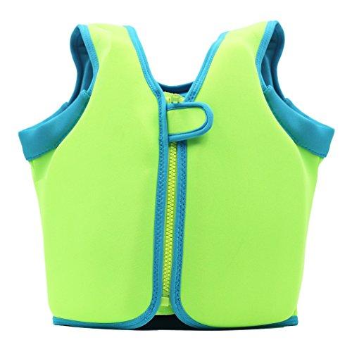 (Vine Swim Vest Learn-to-Swim Floatation Jackets Training Vest for Kids (2-4 Years))