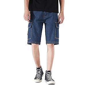 Men's Comfortable Summer  Denim Short Jeans Pants