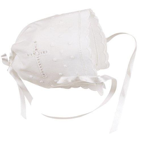 Elegant Baby White Keepsake Bonnet (Discontinued by Manufacturer) ()