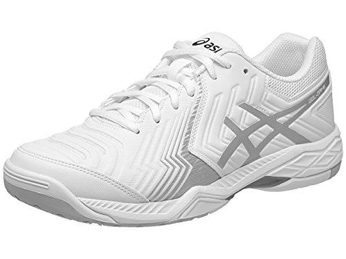 Asics Gel Express - ASICS Men's Gel-Game 6 Tennis Shoe, White/Silver, 9 M US
