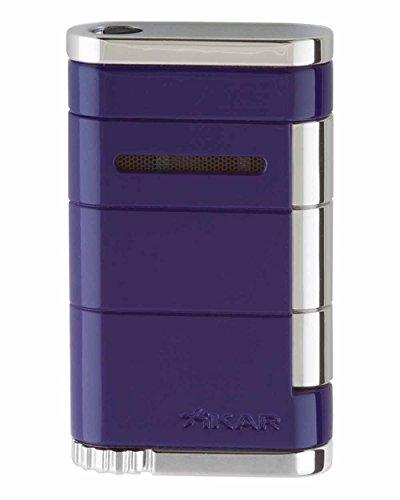 XiKAR Allume Single Torch Flame Cigar and Cigarette Lighter Purple Lifetime Warranty