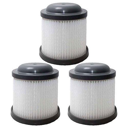 Felji 3 Replacement Filters for Black & Decker Pivot Vac PVF110 PHV1810 PHV1210 905524-33