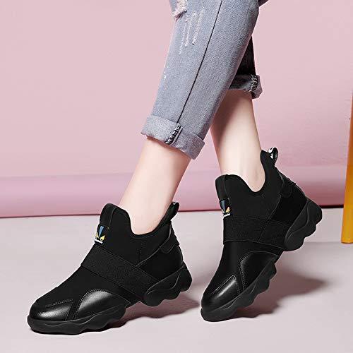 Shoes de black Transpirable Shoes el Sports Otoño y Invierno Fire AJUNR Zapatos Shoes otoño Ladies Mujer Super Ladies el 4d0xUwPq